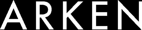 Arken logo - hvit